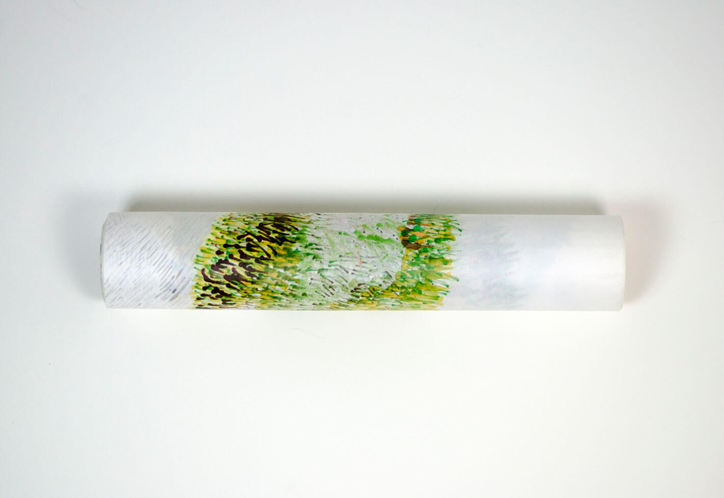 Complete roll, 6.5 m x 39.5 cm., 2018