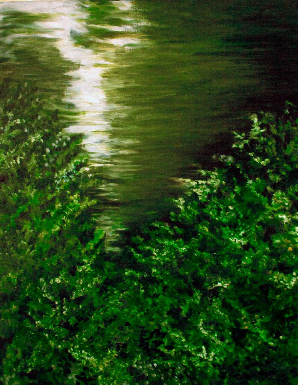 Landscapes, oil on linen, 95 x 70 cm., 2015.